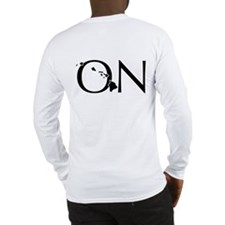 ON Logo Long Sleeve T-Shirt back print