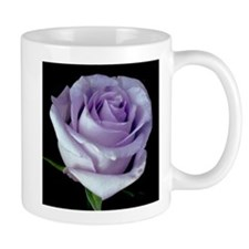 Lavender Rose Flower Mug
