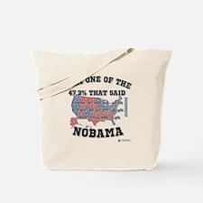 47.3% said NOBAMA Tote Bag