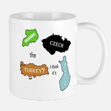 2-czech the turkey Mugs