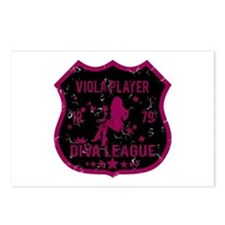 Viola Player Diva League Postcards (Package of 8)