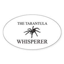 The Tarantula Whisperer Oval Decal