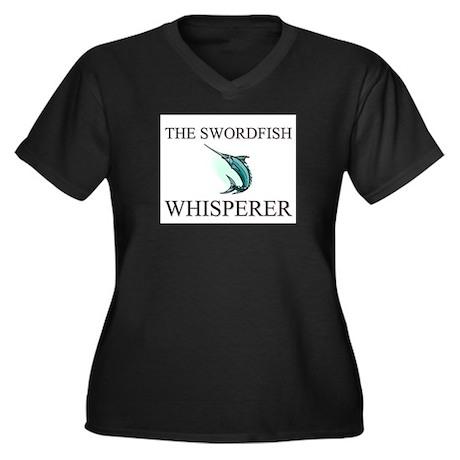 The Swordfish Whisperer Women's Plus Size V-Neck D
