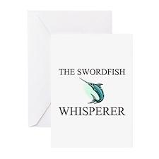 The Swordfish Whisperer Greeting Cards (Pk of 10)