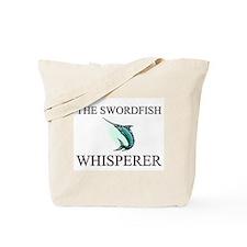 The Swordfish Whisperer Tote Bag