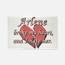 Arlene broke my heart and I hate her Rectangle Mag