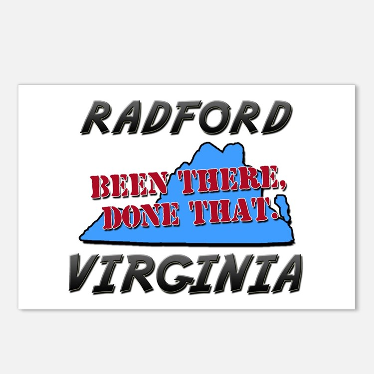 radford virginia - been there, done that Postcards