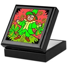 Leprechaun Keepsake Box