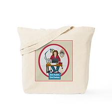 Woman Writer Tote Bag