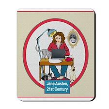 Woman Writer Mousepad