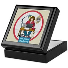 Woman Writer Keepsake Box