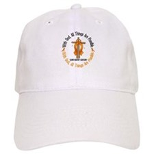With God Cross Kidney Cancer Hat