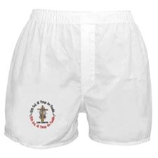 With God Cross Diabetes Boxer Shorts