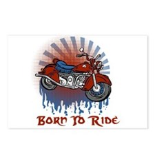 Born to Ride Postcards (Package of 8)