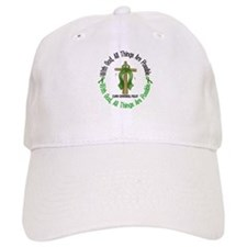 With God Cross Cerebral Palsy Baseball Cap