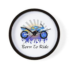 Born to Ride Street Wall Clock