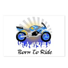 Born to Ride Street Postcards (Package of 8)