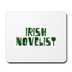 Irish Novelist Mousepad