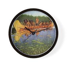 Great Explorers by Remington Wall Clock