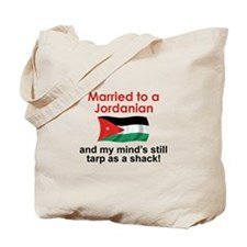 Married to a Jordanian Tote Bag