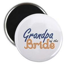 Grandpa of the Bride Magnet