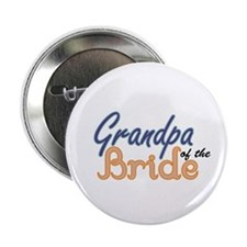 "Grandpa of the Bride 2.25"" Button"