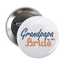 """Grandpapa of the Bride 2.25"""" Button"""