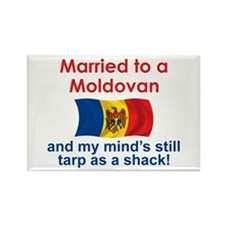 Married to a Moldovan Rectangle Magnet