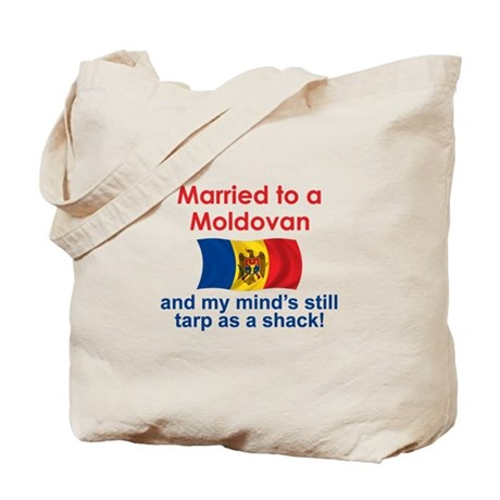 Married to a Moldovan Tote Bag