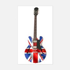 BRITISH INVASION Rectangle Decal