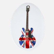 BRITISH INVASION Oval Ornament