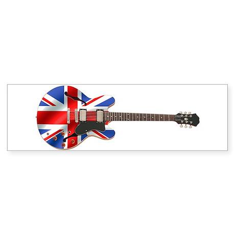 BRITISH INVASION Bumper Sticker