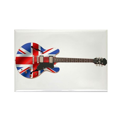 BRITISH INVASION Rectangle Magnet