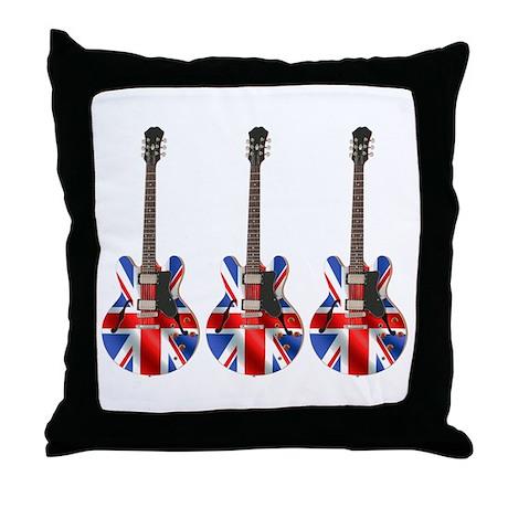 BRITISH INVASION Throw Pillow