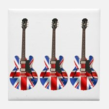 BRITISH INVASION Tile Coaster