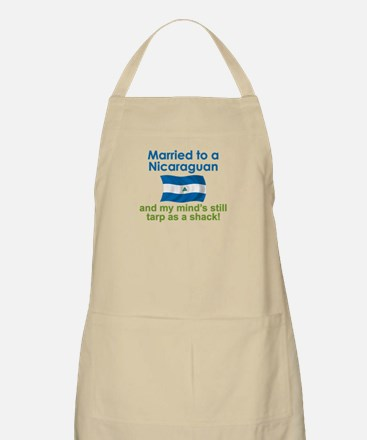 Married to a Nicaraguan BBQ Apron