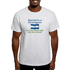 Married to a Nicaraguan T-Shirt