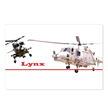 Lynx Helicopter Postcards (Package of 8)
