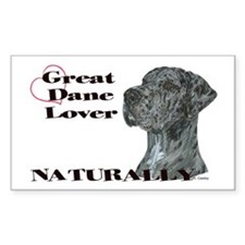 NMrlc GDL Naturally Rectangle Decal