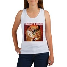 communist obama Women's Tank Top
