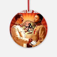 communist obama Ornament (Round)