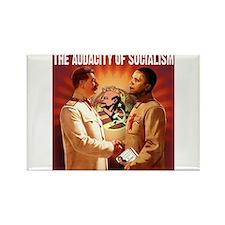 communist obama Rectangle Magnet (100 pack)