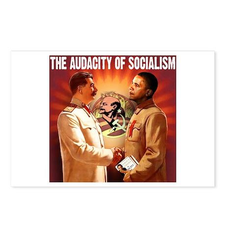 communist obama Postcards (Package of 8)