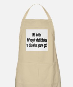 IRS Tax Motto Humor BBQ Apron