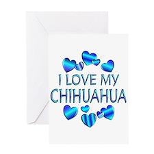 Chihuahua Greeting Card
