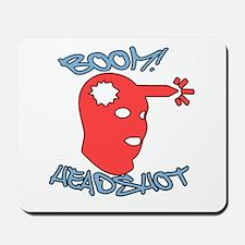 Boom! Headshot! Mousepad