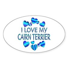 Cairn Oval Decal