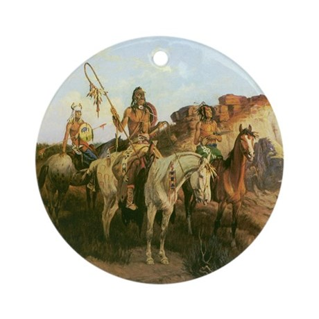 Prowlers of the Prairie Ornament (Round)