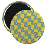 "Retro Bloxy Boxes 2.25"" Magnet (100 pack)"
