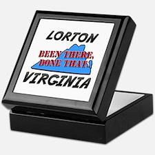 lorton virginia - been there, done that Keepsake B